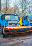 Road services are ready for winter. Stock Photography