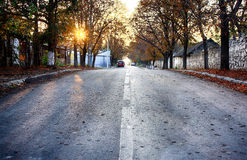 Road on Sevastopol Royalty Free Stock Photos