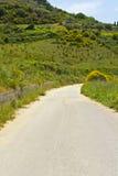 Road in Sicily Stock Photos