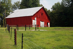 Road side barn Royalty Free Stock Photography