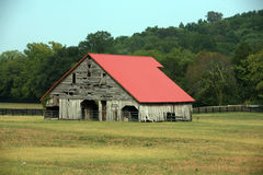 Road side barn Royalty Free Stock Images