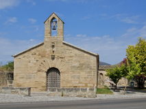 Road-side chapel in Mallorca Stock Image