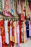 Road Side Childrens' Clothing Store Royalty Free Stock Images