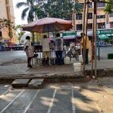 Road side morning breakfast shop.