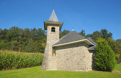 Small typical chapel in Walloon Royalty Free Stock Photos