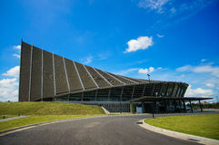 Road side view of Prince Mahidol Hall Stock Image