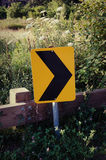 Road sign arrow Stock Photo
