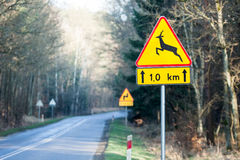 Road sign Stock Images