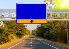 Road Sign Country Road Royalty Free Stock Image