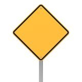 Road Sign in Diamond Shape. Royalty Free Stock Photography