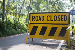 Road sign in Goa, India Royalty Free Stock Photos