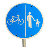 Road sign isolated Royalty Free Stock Image