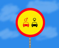 Road sign Royalty Free Stock Photos