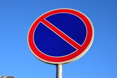 Road sign no parking Royalty Free Stock Photos