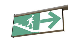 Road sign (pedestrian underpass) Royalty Free Stock Image