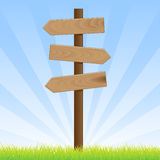 Road Sign Post Stock Photography