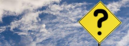 Road sign warning Stock Image