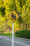 Road sign - Watch out for children Royalty Free Stock Photo