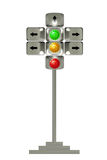 Road signal Stock Image
