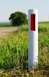 Road Signal Column Royalty Free Stock Photography