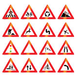 Road signs Stock Photos