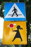 Road signs Royalty Free Stock Photos