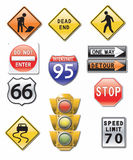 Road signs Stock Image