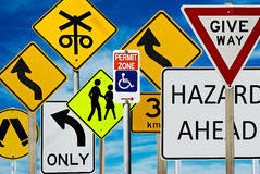 Free Road Signs Stock Photography - 9069672
