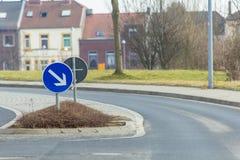 Road signs accompany us Royalty Free Stock Image