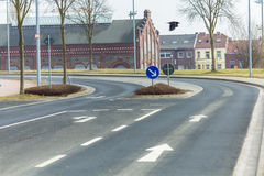 Road signs accompany us Stock Photography
