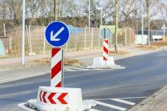 Road signs accompany us Stock Photos
