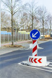 Road signs accompany us Royalty Free Stock Photography