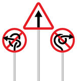 Road signs (arrows) Royalty Free Stock Image