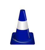 Road signs. Blue Badge guardrails. Vector Illustration. Royalty Free Stock Photos