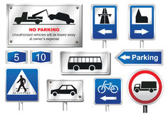 Road Signs European Stock Photos