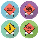 Road Signs. An image of road signs Royalty Free Stock Images