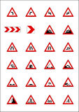 Road Signs & Indicators Stock Images