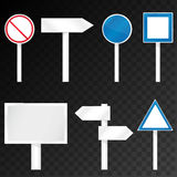 Road signs set Stock Photo