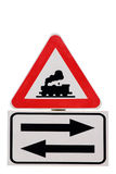 Road signs 35 Stock Photos
