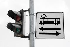 Road signs 17 Stock Image