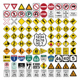 Road Signs and Symbols Stock Photos