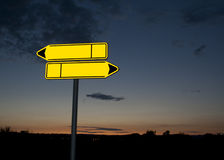 Road signs Royalty Free Stock Photos