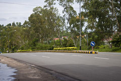 Road in Sihanoukville Royalty Free Stock Photo