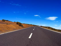 Road and sky Royalty Free Stock Image