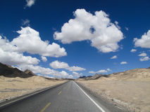 Road and sky Stock Image