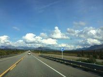 Road, Sky, Highway, Cloud royalty free stock image