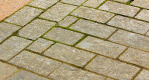 Road slabs Royalty Free Stock Images