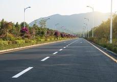 Road with slight Stock Photo