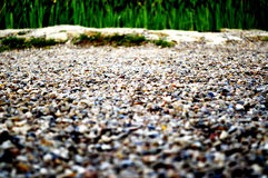 The road of small stones Royalty Free Stock Images