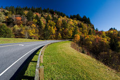 Road through Smoky Mountains National Park Stock Image